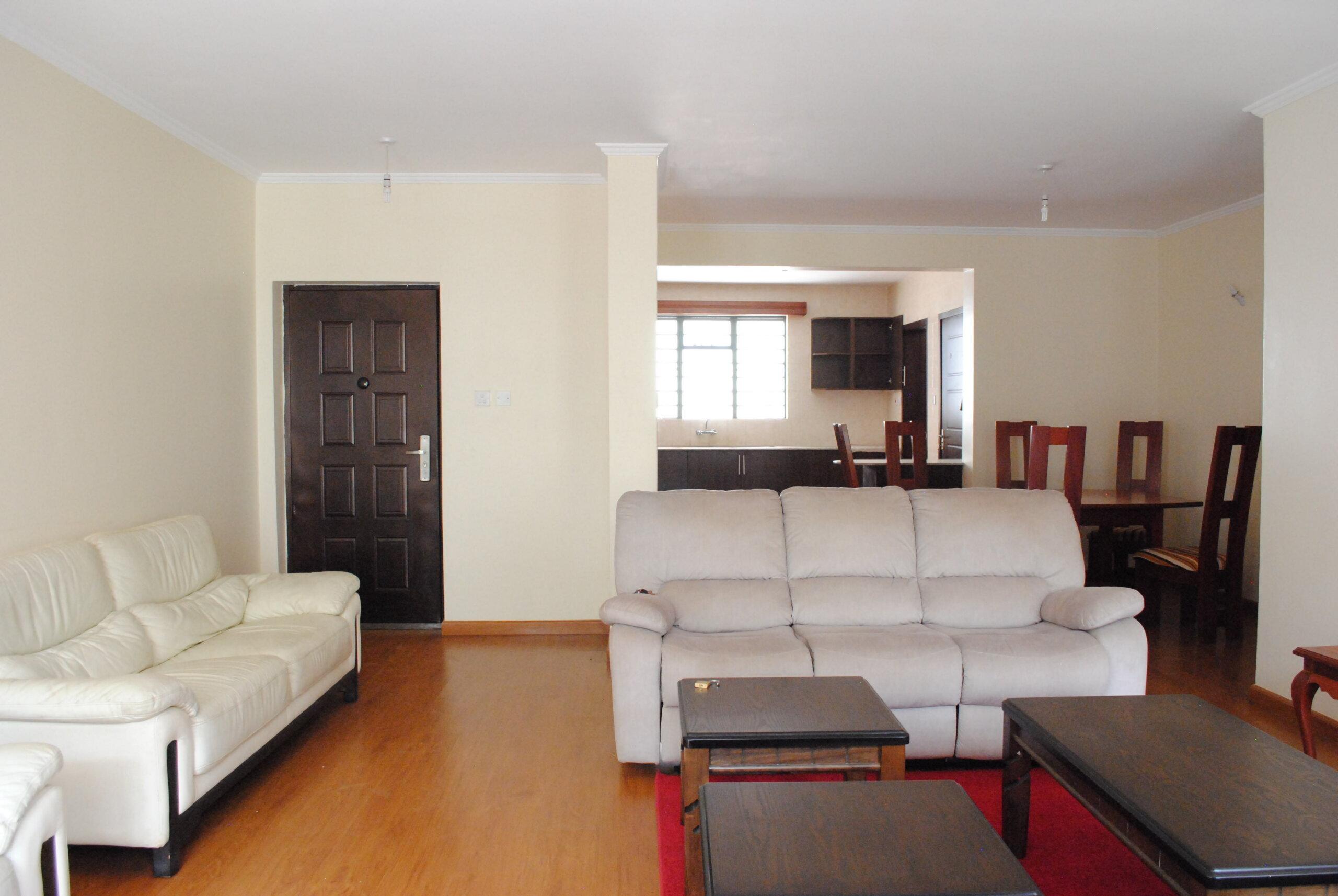 3 Bedroom Apartments in Westlands