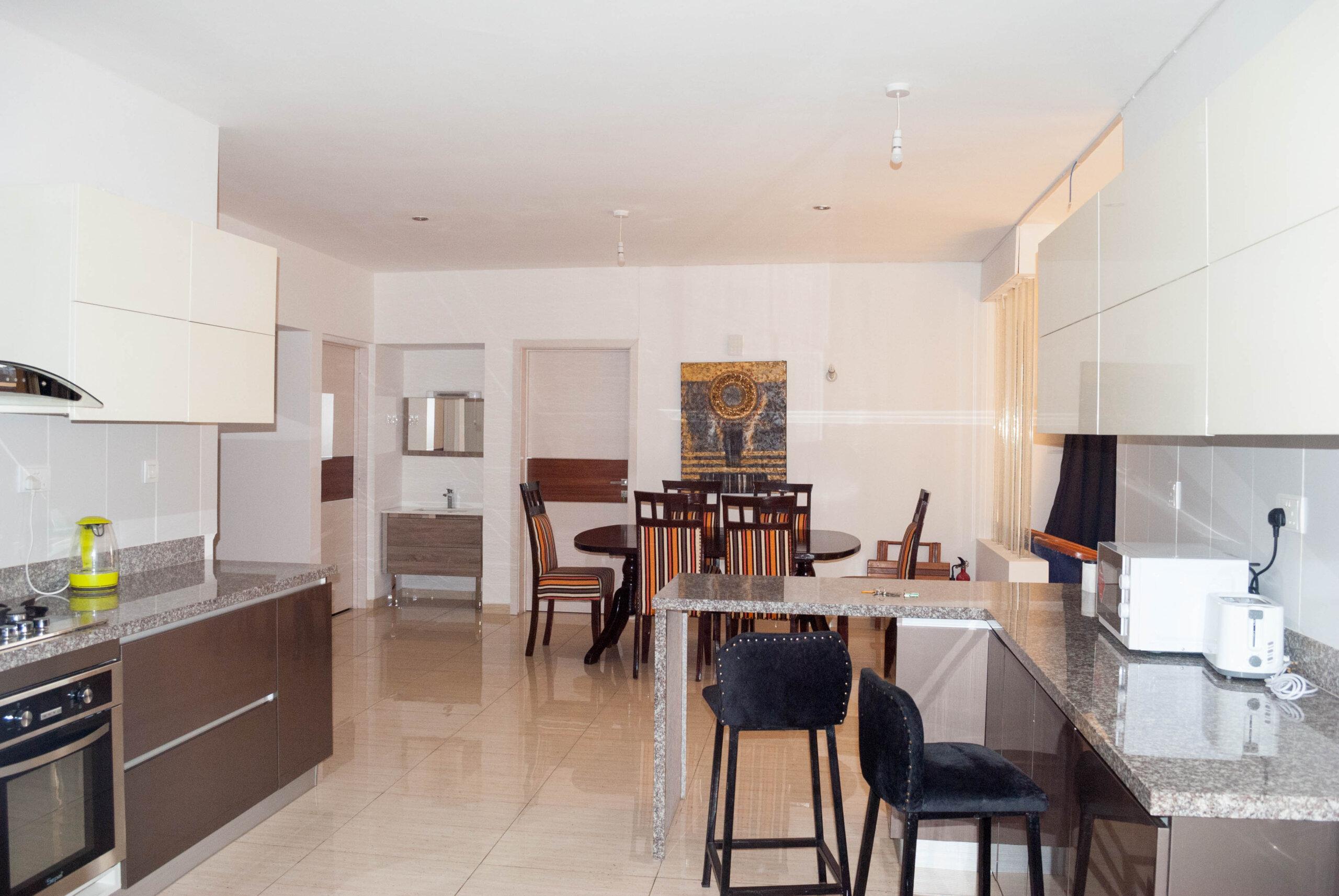 Furnished Modern 3 Bedroom Apartment in Westlands